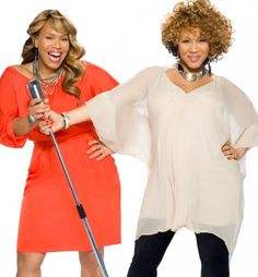 """famous black sisters - Google Search - Tina & Erica Campbell  of """"Mary Mary""""."""