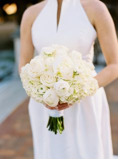 Rose and peony wedding bouquet: Photography: Finch Photo - www.finchphoto.com   Read More on SMP: http://www.stylemepretty.com/2017/02/28/texas-intimate-winter-wedding/