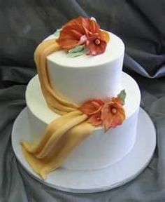 buttercream and mango themed wedding