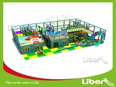 Jungle Themed Indoor Playset for Toddlers | Indoor playground with ...