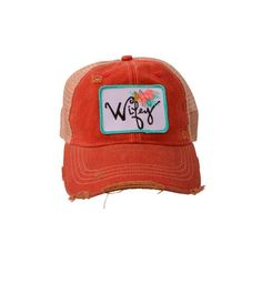 Judith March Wifey Hat (red)
