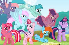 Twilight Sparkle generations