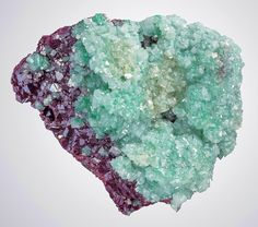 Cuprite with Cuprian Dolomite from Namibia  by Exceptional Minerals