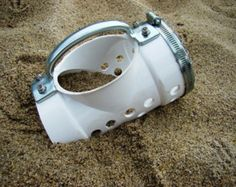 DIY Homemade Sand Scoops -Project Plans, Pictures, and Videos Working sandy beaches or shallow water with you metal detector  is easy with the right sand scoop and you don't have to spend a lot of money to have one. A short trip to the hardware store and you can have a good Homemade Sand scoops …