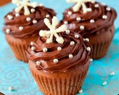 Cupcakes au chocolat au lait (facile, rapide) - Une recette CuisineAZ