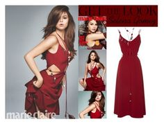 """""""Selena Gomez Marie Claire Magazine June 2016 #1"""" by valenlss ❤ liked on Polyvore featuring Christopher Kane"""
