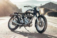 The Raven 500 Royal Enfield Bullet Corb Motorcycles British Motorcycles, Custom Motorcycles, Custom Bikes, Enfield Bike, Enfield Motorcycle, Royal Enfield Bullet, Old Bullet, Royal Enfield Modified, Scrambler Custom