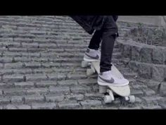 Stair-Rover: Surf the city with an innovative longboard that skates down stairs. Cool!