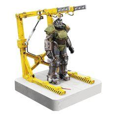Fallout Art, Fallout New Vegas, Usb Hub, Fallout Power Armor, Predator Action Figures, Lego Dragon, Military Drawings, Vinyl, Led