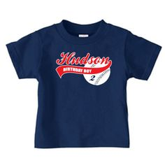 Hey, I found this really awesome Etsy listing at http://www.etsy.com/listing/100654441/personalized-baseball-birthday-t-shirt