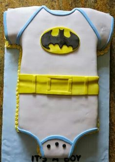 Batman Baby Shower Cake Idea