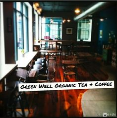 Collectively, green well Organic Tea & Coffee and green well BEING work towards the common goal to provide nutrition, knowledge, tools and insight for a healthier lifestyle for everyone in New Haven... AND they use playmysong while they're doing it!