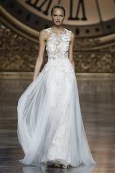 Pronovias wedding dress at Barcelona Bridal Fashion Week 2015