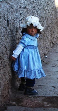 Quechua child , Cuzco, photo taken by...?