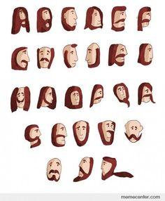 Beard type