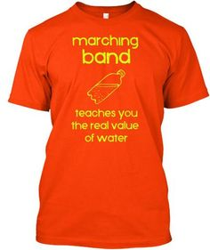 Show your Band Geek pride with this expressive t-shirt! Great for middle school/high school/college bands! ***Each item is printed on super soft premium material! Designed, Shipped, and Printed i Marching Band Quotes, Marching Band Shirts, Marching Band Problems, Flute Problems, Funny Band Memes, Band Jokes, Band Mom, Band Nerd, Music Jokes