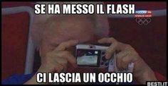 Se ha messo il flash