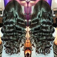 Body Wavy Burmese Virgin Human Hair Eva Wigs U Part Wigs Hairstyles in stock Love Hair, Gorgeous Hair, Curly Hair Styles, Natural Hair Styles, Malaysian Hair, Weave Hairstyles, Extension Hairstyles, Wedding Hairstyles, Remy Human Hair