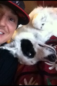 Ghost Adventures: Zak and Gracie. You know a man is sensitive when he's weird with his dog.