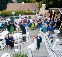 Perry House wedding reception in Monterey CA | http://eventsbyclassic.com