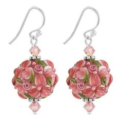 Rose Parade Earring Kit with Swarovski® Crystals