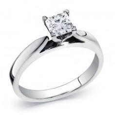 .15 Carat Princess Cut Diamond Solitaire Ring