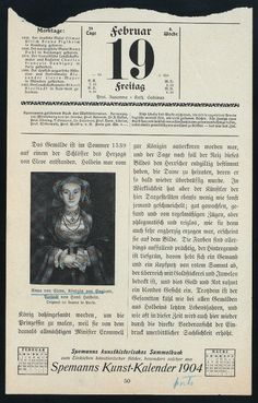 Anna von Cleve, Königin von England, Porträt von Hans Holbein.  [Spemanns Kunst- Kalendar 1904.] New York Public Library, Digital, Anne Of Cleves, Cleves, Wars Of The Roses