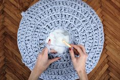CROCHETED FLOOR POUF crochet, crocheting, craftastherapy, myhandsmaking, pouf, crocheted pouf, ottoman, footstool, horgolás, horgolt, oviktoria, madebyoviktoria