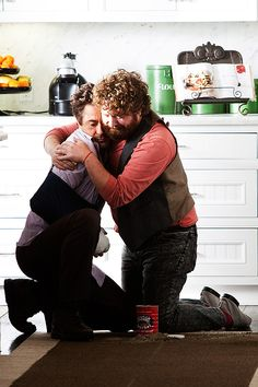 "Robert Downey Jr. and Zach Galifianakis, ""Due Date."""