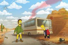 Breaking Bad - The Simpsons Dark Souls, Breaking Bad 3, Pop Art, Heisenberg, Bad Memes, Walter White, Best Series, Film Serie, Cultura Pop