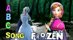[Kids Songs] ABC Song by Anna Elsa Frozen in Forest [Frozen]