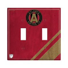 Atlanta United FC Double Toggle Light Switch Cover