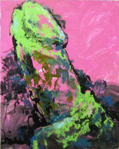 "Saatchi Art Artist Konstantin Altunin; Painting, ""The prehistoric Phallus"" #art"