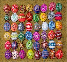 painting hollow eggs - Google Search