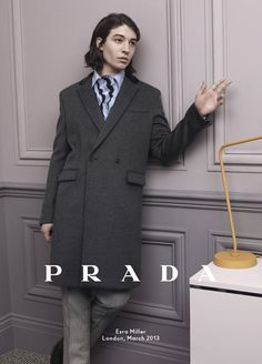 Ezra Miller for Prada FW 2013