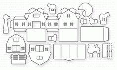 Papertrey Ink - Petite Places: Barnyard Die