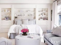 Bedroom Decorating Ideas (1455) https://www.snowbedding.com/