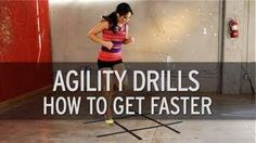 Agility squares. Will and I are doing this tonight. Looks like it would be darn handy for trail running strength.