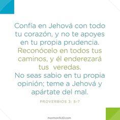 Proverbios 3: 5-7