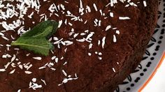 Candice's chocolate, mint and coconut cake