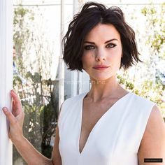 Jaimie Alexander---hair love!