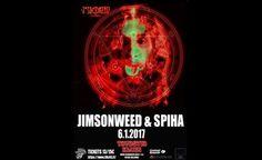 Jimsonweed & Spiha - Tavastia-klubi, Helsinki - 6.1.2017 - Tiketti