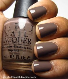 OPI You Don't Know Jacques not a color I'd usually be drawn to but I really like it on.