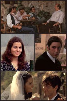 """The Godfather - """"There are people who'd pay a lot of money for that information, but then your daughter would lose a father instead of gaining a husband"""" - Michael Corleone #GangsterMovie #GangsterFlick"""