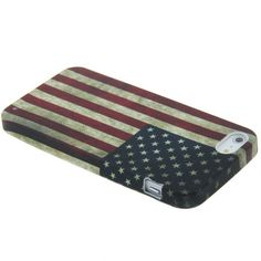 iPhone 5 case / hoesje, oude Amerikaanse vlag (USA). Iphone 5 Cases, Ipod, Samsung Galaxy, American, Accessories, Ipods