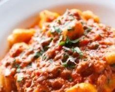 Gnocchis de patates douces à la tomate - Une recette CuisineAZ