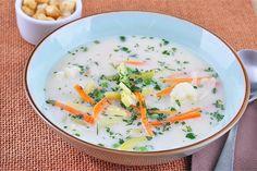 Zupa jarzynowa ze śmietaną Thai Red Curry, Eat, Ethnic Recipes, Food, Pretty, Meal, Eten, Meals