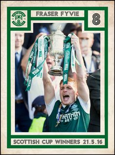 The team that made history at Hampden Park on Saturday May For more information, contact the Trust today. Hibernian Fc, Hampden Park, Goalkeeper, Trust, Soccer, Football, Baseball Cards, History, Reading