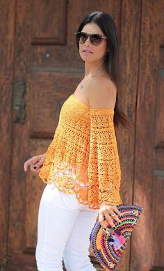 Crochet top.....