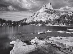 Cathedral Peak and Lake, Yosemite National Park, California (ca. 1960)